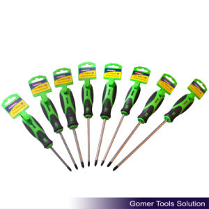 Massage Handle Good Quality Phillips Screwdriver (T02402-C) pictures & photos