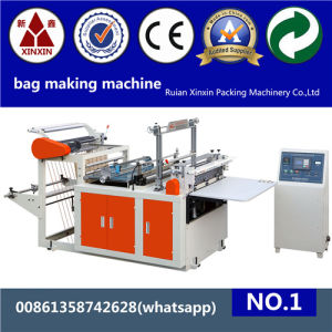 Plastic Shopping Bag Making Machine with Servo Motor
