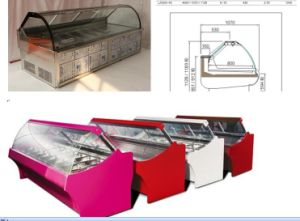 Used Cool Food Display Freezer Price in China pictures & photos