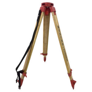 High Quality Wooden Tripod for Total Station/Theodolite/Auto Level