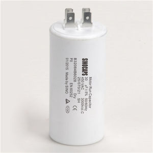 Korea Motor Run Capacitor with Pins Low Price pictures & photos