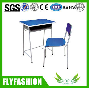 Colour Single School Student Classroom Desk and Chair pictures & photos
