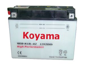 Heavy Duty Dry Motorcycle Battery -Yb50-N18L-A2-12V20ah pictures & photos