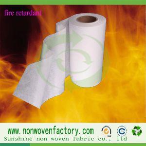 Spunbond Polypropylene Nonwoven Flame-Retardant Fabric pictures & photos