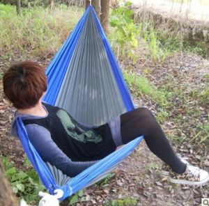 Hot Sales Garden Triple Stitching Tree Swing Hammock pictures & photos