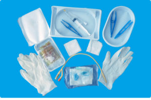 Disposable Cheap Urinary Catheter Package Kit Tray (CE Mark) pictures & photos