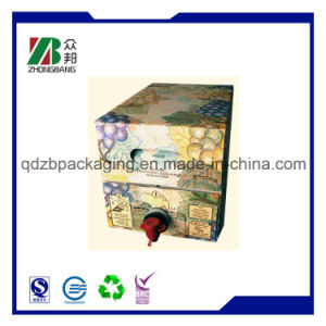 Plastic Foil Bag in Box with Spout or Valve pictures & photos