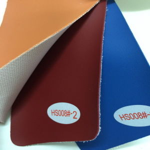 PVC Leather Fabric for Chairs Cover (HS008#) pictures & photos
