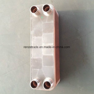 High Efficient Cooper Brazed Plate Heat Exchanger for Air Conditioning System pictures & photos