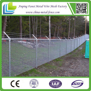 Low Price Galvanized Chain Link Wire Mesh Fence pictures & photos