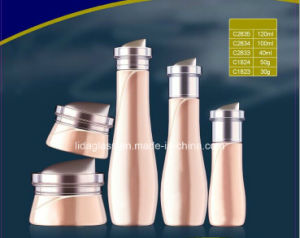 High End Grade Cosmetics Glass Bottle and Jar Cy-08