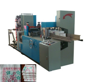 1/4 1/6 1/8 Folding Automatic Counting and Printing Napkin Paper Machine pictures & photos