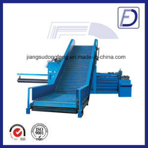 Conveyor Horizontal Corrugated Carton Baler Machine pictures & photos