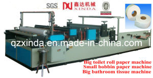 Coil Paper Toilet Roll Paper Rewinding and Slitting Machine pictures & photos
