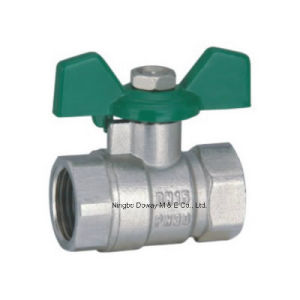 Pn20 Forged Brass Ball Valve with Level Handle pictures & photos