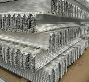Galvanized Two Wave Highway Guardrail pictures & photos