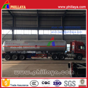 60m3 Tri-Axle LPG Tank Semi Trailer with Certificates pictures & photos