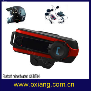 800m Motorbike Helmet Bluetooth Intercom Headset Support Three Sides Intercom pictures & photos