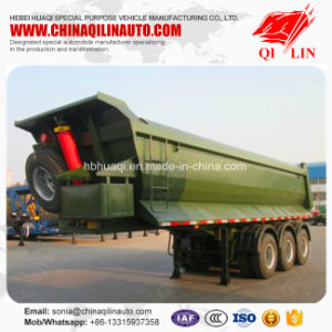 Best Selling 3 Axles 30t - 60t Dumping Tipping Semi Trailer pictures & photos