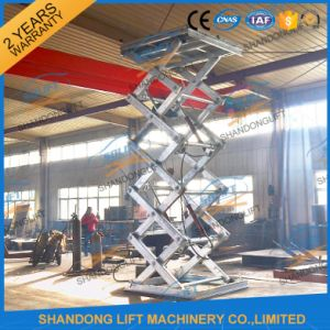 Hot DIP Galvanized Hydraulic Electric Pool Lift with Ce pictures & photos
