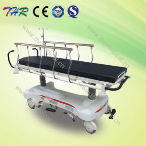 Rise-and-Fall Medical Hydraulic Transport Stretcher pictures & photos