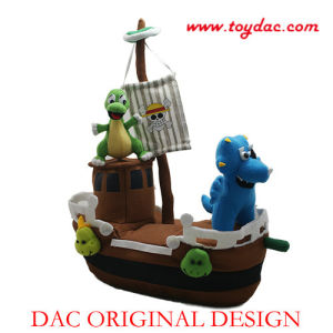 Plush Pirate Ship Toy pictures & photos