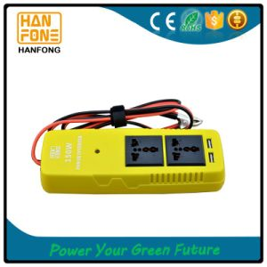 150W Power Inverter DC/AC Car Adapter USB Charging Ports pictures & photos