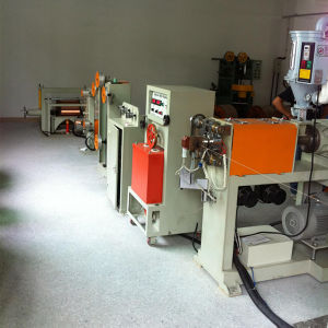 Double Layer PE Foaming Extruder Machine pictures & photos