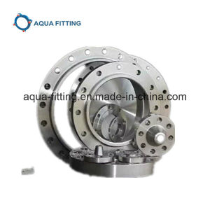 Stainless Steel Standard Flat Threaded Flange DIN2566 with ISO 9001 pictures & photos
