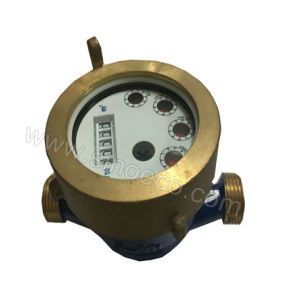 Brass Single Jet Liquid Sealed Cold Water Meter Class B pictures & photos
