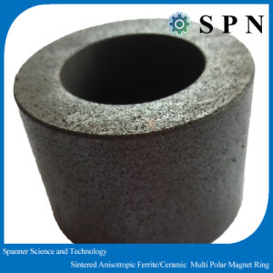 Anisotropic Ferrite Magnet Sintered Core for Motor pictures & photos