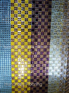 Diamond Glass Mirror Mosaic Tile (HD063) pictures & photos