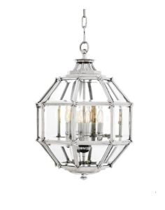 Metal Chandelier with Glass Shade (WHG-8173) pictures & photos