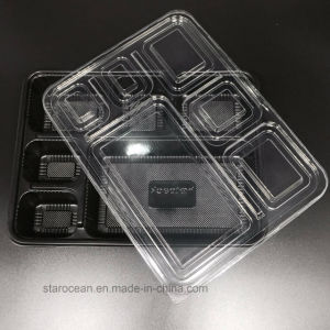 Plastic Tray PS/BOPS Food Container for Fast Food for Sushi pictures & photos