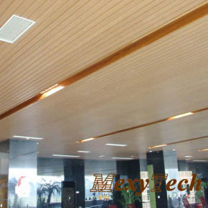 Meeting Room Wood Panel Wood Plastic Composite Wall Panel pictures & photos