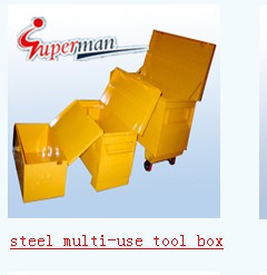 Steel Muti-Use Tool Box (SM-7001) pictures & photos