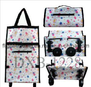 Non Woven Shopping Travel Bag with Zipper Pocket pictures & photos