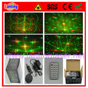 Red and Green Mini Laser Stage Lighting Projector pictures & photos