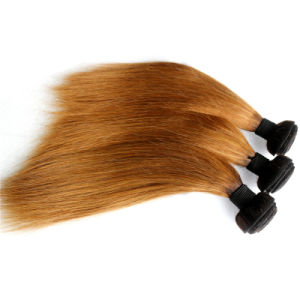 Ombre Hair Weave Mongloian Remy Human Hair pictures & photos