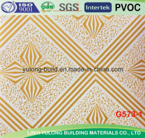 PVC Gypsum Ceiling Tile for Ceiling pictures & photos