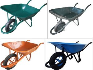 One Wheel Cart Wb6400 for Construction pictures & photos
