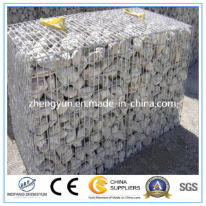 Welded Wire Mesh Gabion Box/Galvanized Gabion Mesh Manufacture pictures & photos