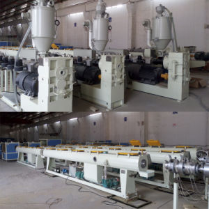 Plastic PE Pipe Production Extrusion Making Machine (SJ65) pictures & photos