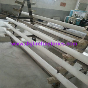 99% Al2O3 Ceramic Tube for High Refractoriness Applications pictures & photos