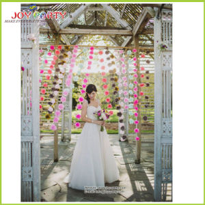 Tissue Paper POM Poms Garlands for Wedding pictures & photos