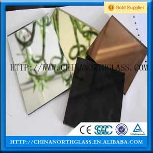 Aluminum Mirror Glass for Interior Decoration pictures & photos