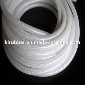 Customize Platinum Cured Transparent Braided Silicone Rubber Hose pictures & photos