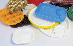Ce Plastic Biscuit Tray Thermoforming Machine (DH50-71/120S-A) pictures & photos