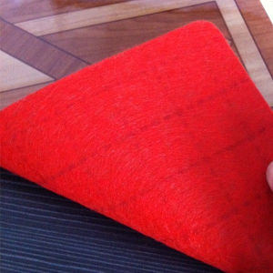 Thick Material Backing Plastic Sheets Type for Indoor Flooring pictures & photos
