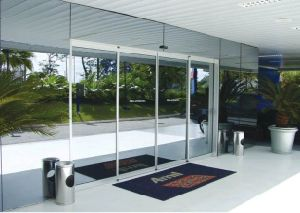 Luxury Mirorr Glass Automatic Sliding Door pictures & photos
